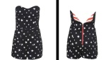 Star-print-playsuit
